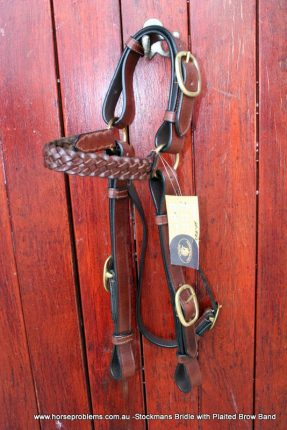 Australian Stock Bridle