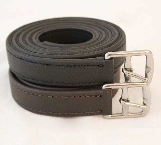 English Saddle Stirrup Leathers