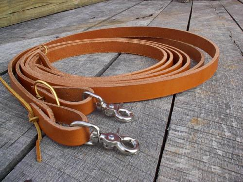 Western Single thickness Reins