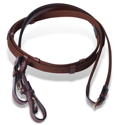 English Reins Italian Leather